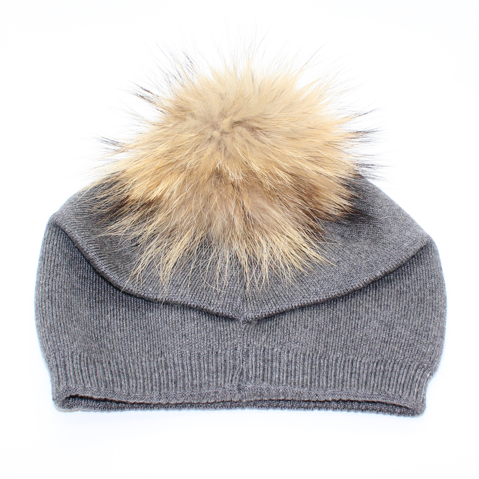 760625a9c29ede Pungles - Online Store - Knitted Cashmere Removable Fur Pompom ...