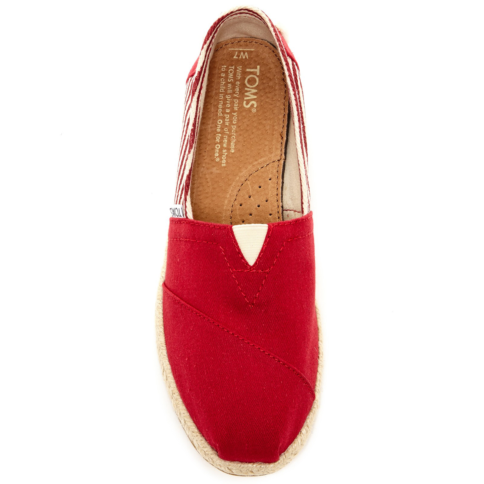 581355a5e5a6 Pungles - Online Store - Woven Stripe Classic University Slip-On Red ...