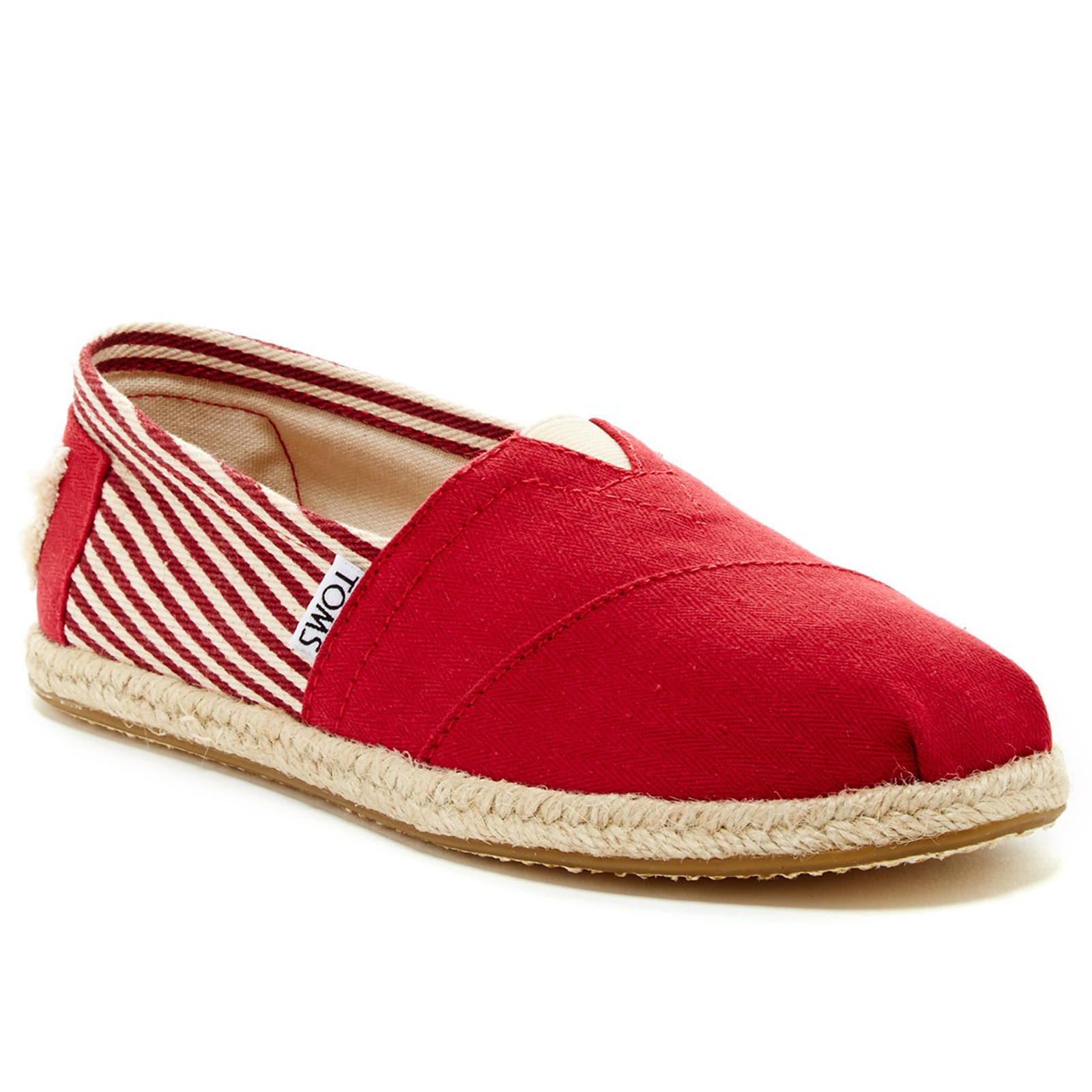 Pungles - Online Store - Woven Stripe Classic University Slip-On Red ... f792ec1f4